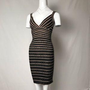 My vintage Herve Leger black bandage mini dress